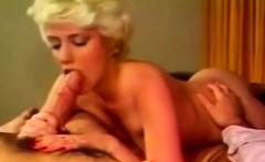 Blonde In Vintage Deep Throat