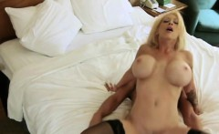 big titty blonde cheater getting banged in motel