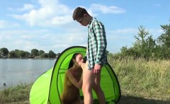 College girls cumpilation Eveline getting humped on camping