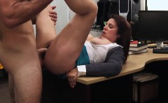 Huge tits brunette show sucking skills