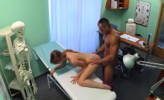 Sexy nurse fucked patient in office