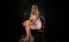 sexy blonde loves her cum