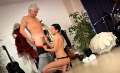 Biene the blowjob lady After an tiresome lesson the two get