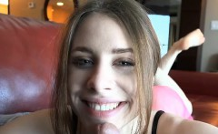 anyas warm pussy takes a good creampie