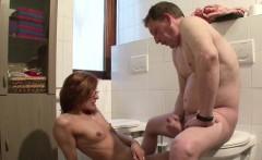 german hot milf in lingerie get hard fuck by stranger