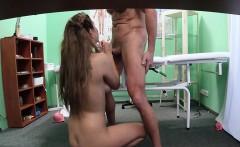 Doctor cumming on his teen patient