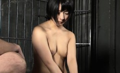 Painted asian babe gets fucked hard