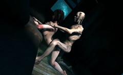 Foxy 3D Zombie Vixen Sucking and Fucking