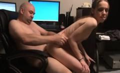 Skinny young slut has a throbbing cock hammering her narrow