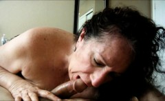 Cocksucking Granny pleasing her amore