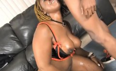 fatty black ghetto whore poizon ivy getting face smashed