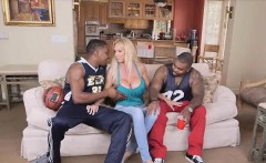 milf cheating with two big black cocks