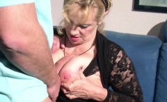 German Step-Mom Want His Big Cock and Seduce him to Fuck her