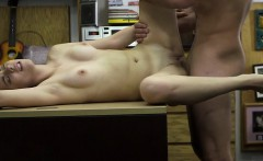 Slutty Speaker selling lady gets her pussy and her tits sold