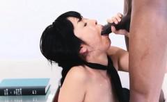Japanese babe sucks bbc