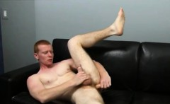 Straight canadian gay twink Spencer Todd's bum gets much nee