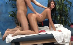 Honey undresses and then plays with her tireless fake penis
