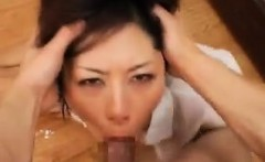 Sexy slender Oriental lady with lovely tits gets treated li