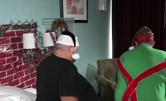 Big Belly Christmas Bear