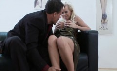 Pussy And Ass Penetration With Horny Cindy Dollar