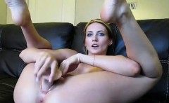 Blonde Webcam Goddess 21 Squirting in a Bowl HD