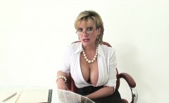 Unfaithful British Milf Lady Sonia Shows Off Her Huge Natura