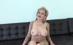 Adulterous british mature lady sonia pops out her huge knock