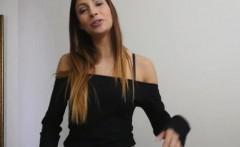 Shaved pussy stepsis Jade Jantzen gets her ass rammed