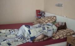 Lesbian granny enjoys dildo sharing with teen
