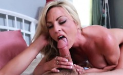 Hot Blonde Rides Long Cock