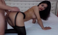 hot hardcore sex of couple on cam