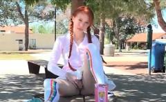 Porn Teen Ftvgirls Sexy Pig Tailed Ginger Babe Loves Dressin