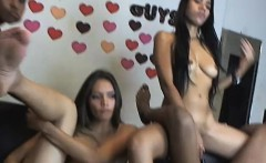 hot ladies plays with their nice snatch