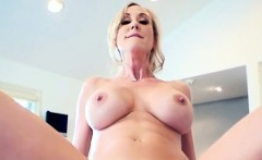 Chesty MILF Brandi Love Deals With Stepsons Cock
