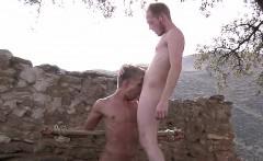 Big dick Sean fucking Chris Jansens dirty mouth for fun