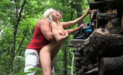 busty latin babe gets banged in the park for some money