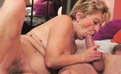 Old Granny Gets Railed