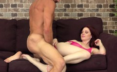 She Loves How Huge His Cock Feel In Her Pussy