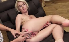 Sexy Czech Cutie Opens Up Her Spread Cunt To The Unusual