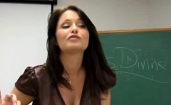 Sexy and milf is riding on a thick dick zealously