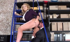 Getting it on in the shipping Warehouse