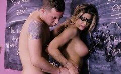 chesty teacher jessa rhodes gets humped and creamed