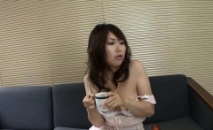 Stuning porn in Asian style with sexy Naho Kojima