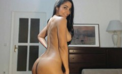Tanned Latina Gorgeous Hairy Pussy N ASS