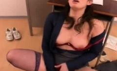 Japan School Teacher Cum Sucking
