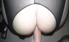 fetish plumper in lingerie shaking her big ass in pov scene