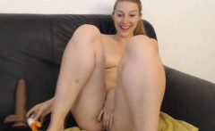 Pretty British Babe Squirting After Masturbating