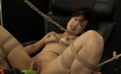 superb japanese cleans house and enjoys anal on webcam