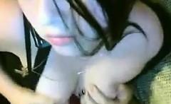 Beautiful camgirl masturbates private webcam show