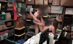 Brunette Thief Brooke Bliss Takes Cock In Office